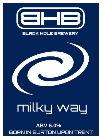 black hole brewery milky way beer