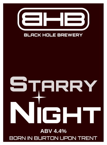 black hole brewery starry night beer